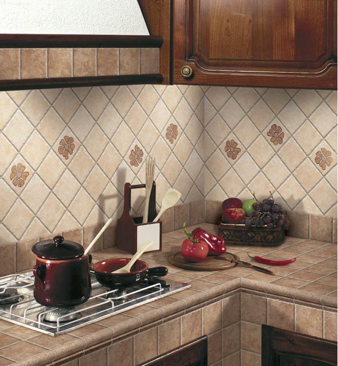 Mutfak fayans modelleri - Piastrelle 10x10 per cucina in muratura ...