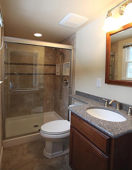 K k banyo tasar m na g zel rnekler Redesigning small bathrooms